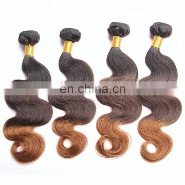 wholesale darling hair brazilian 100% human ombre hair extensions hair coloring