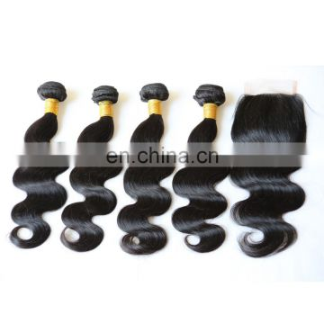 cheap good quality virgin japanese human hair weave distributors body wave lace front closure wet and wavy