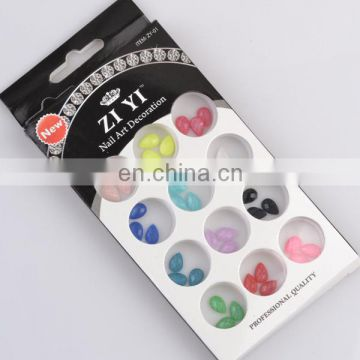 China Wholesale colorful bead nail product nail arts design