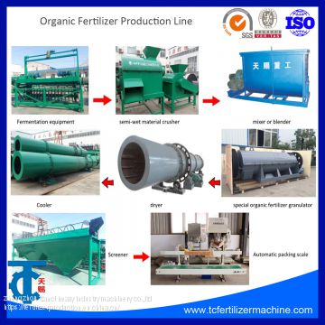 10000-200000 organic fertilizer production line machine