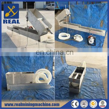 Recirculating sluice portable sluice box plans highbanker sluice box for sale