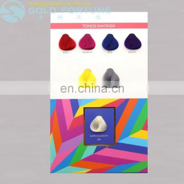 Hot Sell hair color chart in hair dye color chart for hair color cream