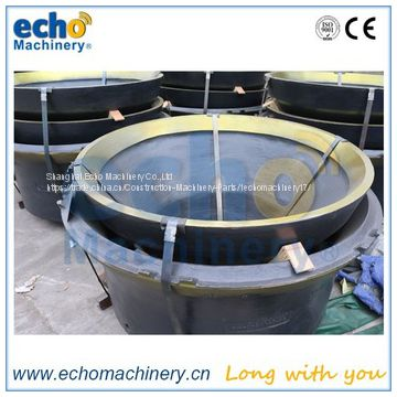 Svelada H3800 cone crusher mantle and concave spare parts of