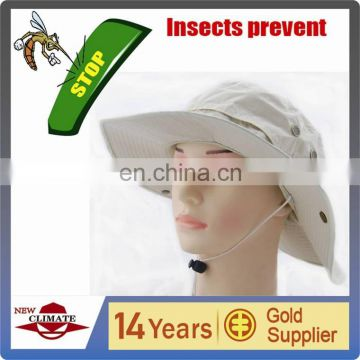 Out door hat with anti insect function