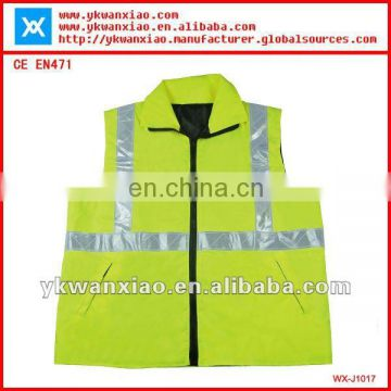 high visibility jacket with PU coated ,high visibility jacket yellow,hi vis jacket with PVC tape