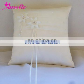A-R3 2 Flowers PP cotton filled ring pillow