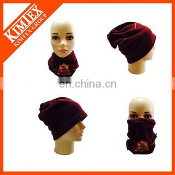 Magic custom polar fleece neck gaiter with embroidery logo