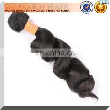 Grade AAAAA Quality Unprocessed 100% Virgin No Shedding Tangle Free Machine Made Hair Weave Brazilian Human Hair Sew In Weave