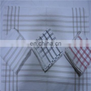 China suppliers 100% cotton terry kitchen towel