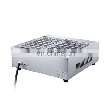 Commercial Japanese Octopus Ball Maker / Gas Takoyaki Grill / Street Snack Egg Processing Machine