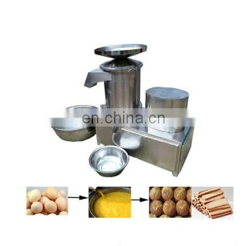 Fresh egg deshelling machine Egg shell egg liquid separator Egg Breaking Liquid Machine