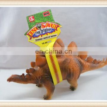 good quality big Euoplocephalus with IC soft rubber dinosaur toy