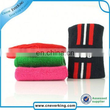 custom terry wristband sweatband for badminton & tennis factory wholesale