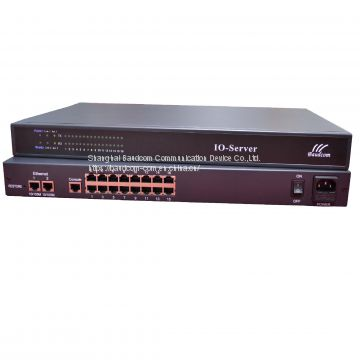 16 channel RS232 Serial to Ethernet Converter Console server