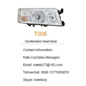 Toyota coaster combination head lamp(T006)