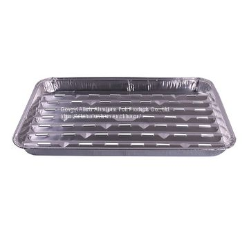 Large take away Party aluminum foil barbecue grill tray
