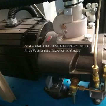 permanent magnet synchronizing motor variable speed screw air compressor