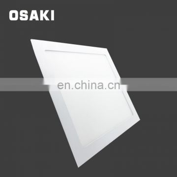 Indoor lighting SMD 2835 double color square led panel light 24 w