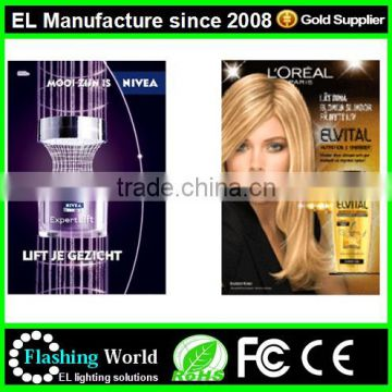 diversified latest designs various styles el advertising gift