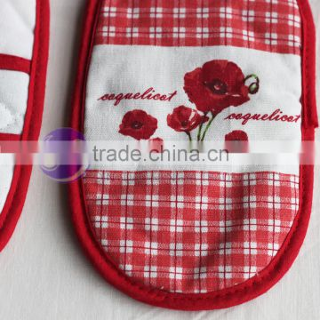 custom printed cute magnetic cotton pot holder