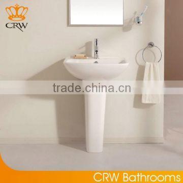 CRW HA3347+HF9347 Bathroom Ceramic Wash Basin