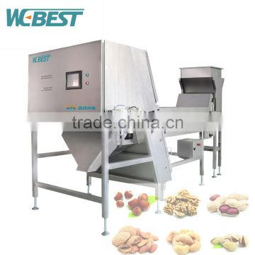Most popular,hot selling,best quality,promotion,walnut kernel color sorting machine with imported technology