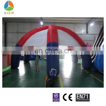Aier Top sale inflatable bar tent, large activities square inflatable tent, 4 or 6 legs spider tent