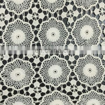 light cotton water soluble lace fabric used on garment