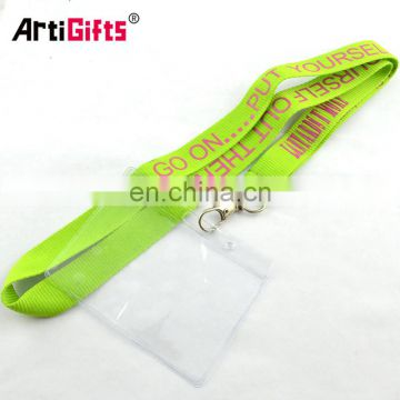 Reusable plastic name badge holder