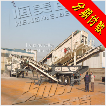 Direct sale of mobile building waste crusher, stone crusher, gravel machine big discount