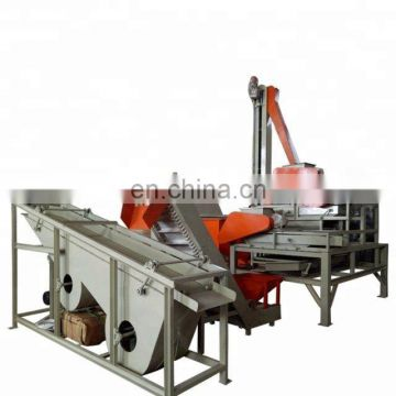 almond hulling almond shell separator machine hazelnut sorting machine hazelnut processing line