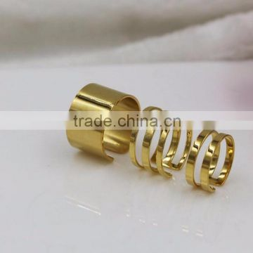 Korean Show Stainless Steel Ring Gold finger ring rings design for women with price