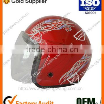 2016 Hot Sell Good Quality Custom Helmet Designs Motorcycle Helmet