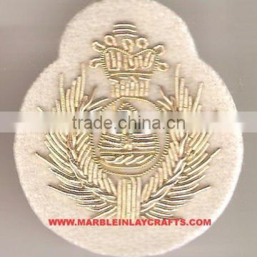 Indian Hand Embroidery Badges, Embroidered Patches