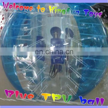 World Cup TPU bumper soccer ball/bubble football for sale