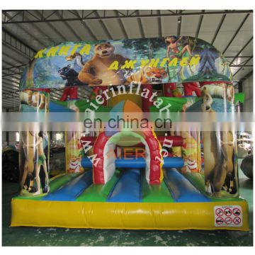 2015 Hot Selling jungle Inflatable Sport Games