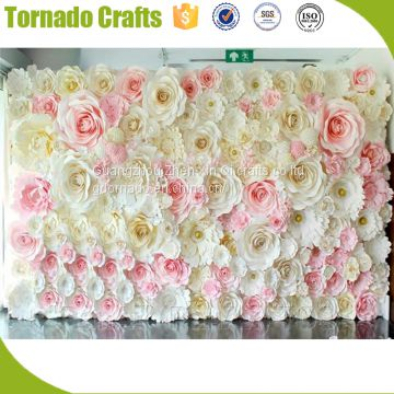 2017 wholesale amazing artificial pink white paper flower for wall 2017 wholesale amazing artificial pink white paper flower for wall wedding decoration mightylinksfo