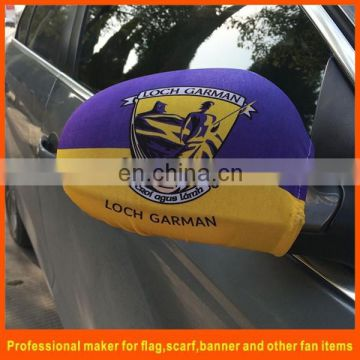 Sports teams logo car mirror flag