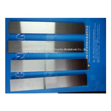 Pure Tungsten Bar Zhuzhou Tungsten Strip