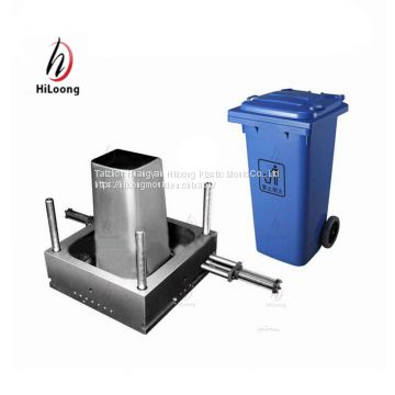 taizhou injection plastic mold trash can mold