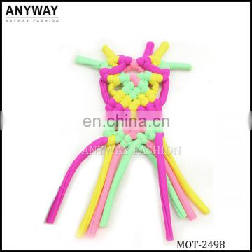 new fashion braided fringe for bikini back