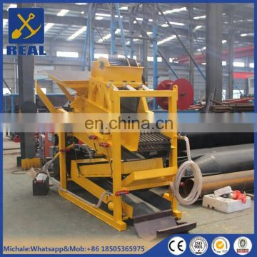 Vibrating grizzly screen gold mining equipment