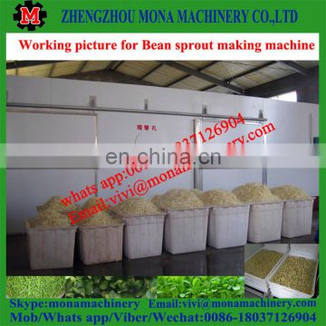 Commercial mung bean sprout growing machine / automatic bean sprout machine price