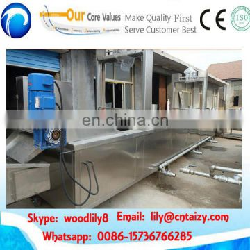 200kg/h continuous frying machine samosa frying machine industrial fryer machine 0086-15736766285