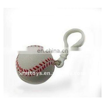 2017 hot sell 3D baseball keychain for decoration