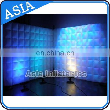 High Quality Inflatable Lighting Wall for Photography, Inflatable Office Wall, Inflatable Exhibition Partition Walls