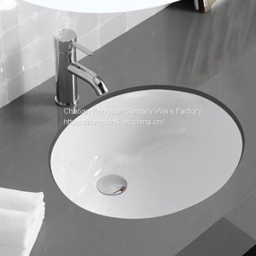 bathroom white color competitive price face under counter wash basin sink - Wash Basin Sink