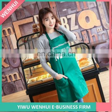 FACTORY DIRECTLY attractive style natural cotton bib apron for wholesale