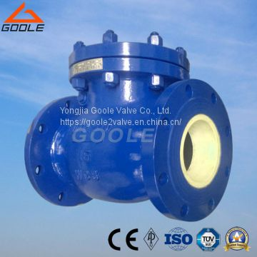 Flanged Ceramic Lined Swing Check Valve (GH44TC)