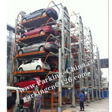 China rotary parking manufacturer, rotary parking system, CE multi puzzle parking stacker parking tower parking full automatic parking